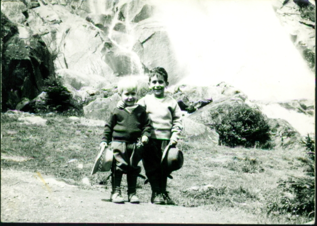 Rudy and Serge - Young Hikers