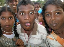 Kids in Tamil Nadu