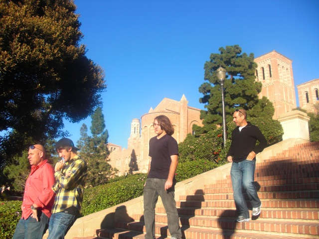 Michael and Alex at UCLA
