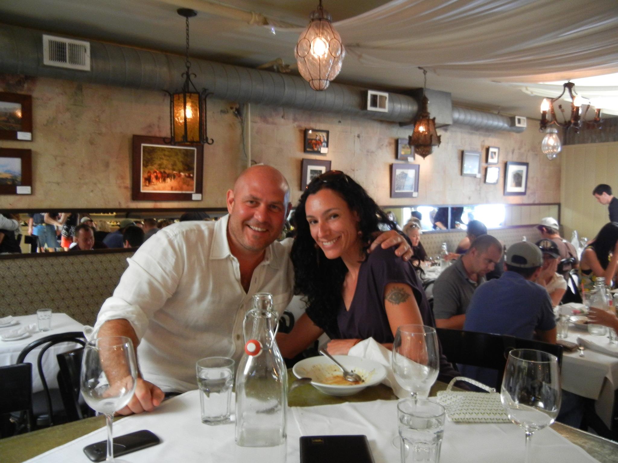 Giampiero Ambrosi and Denise