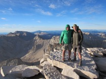 Me And Dennis on Whitney Summit